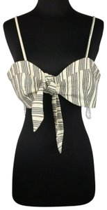 Glamorous Tall Size Striped Bralette Top Multicolor