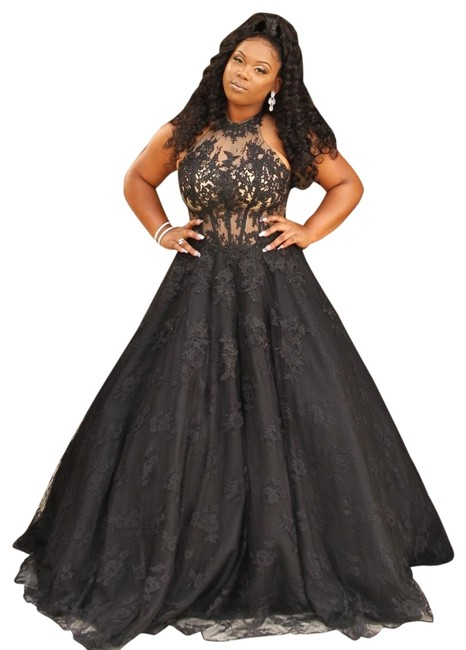 Item - Black Long Formal Dress Size 10 (M)