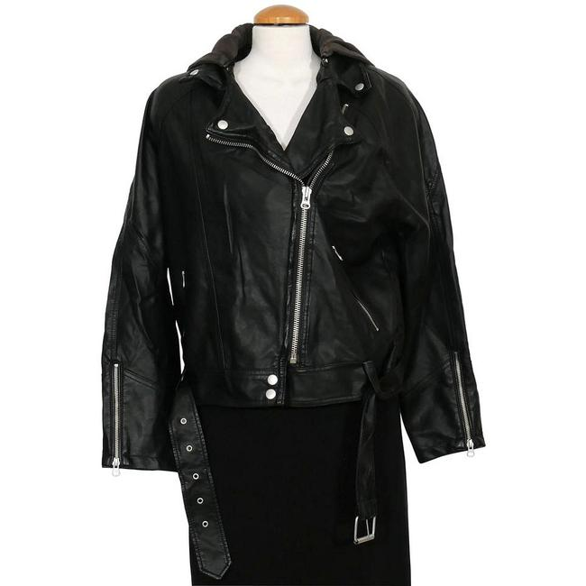Free People Motorcycle Jacket Image 1