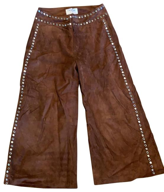 Item - Brown Suede Cropped Pants Size 2 (XS, 26)
