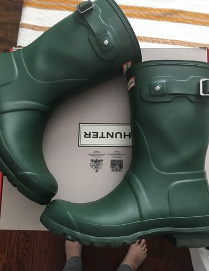 Hunter Green Boots Image 4