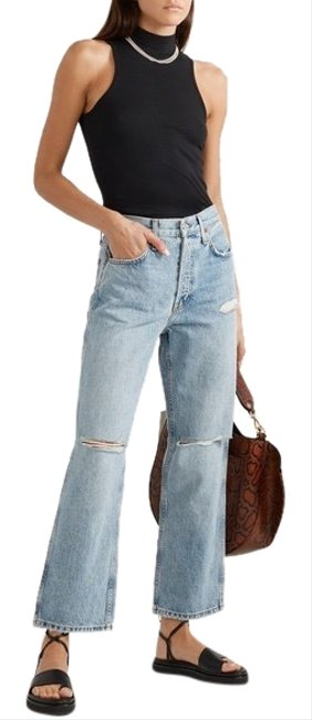 Item - Blue Re/Done Low Slung Crop Relaxed Fit Jeans Size 2 (XS, 26)