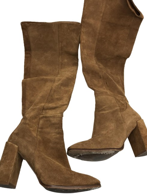 Item - Brown Knee High Boots/Booties Size US 9 Regular (M, B)