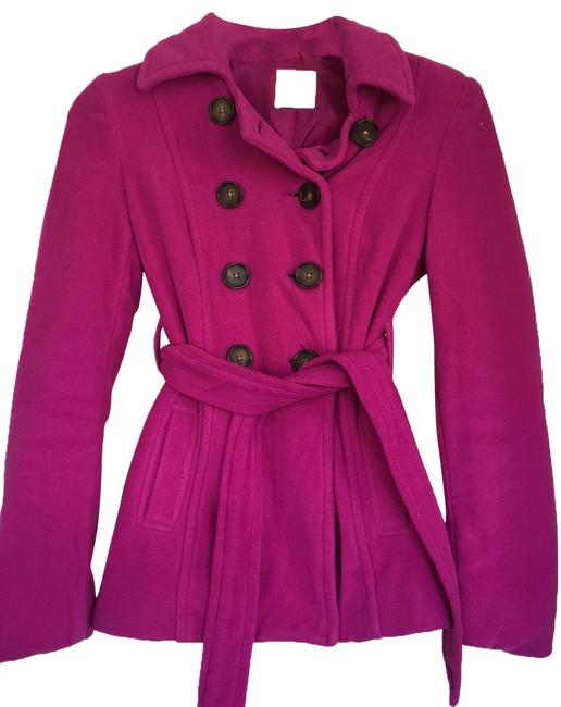 Item - Purple Buttoned Coat Size 0 (XS)