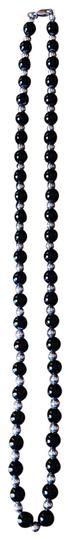 Preload https://img-static.tradesy.com/item/26300058/tiffany-and-co-black-and-silver-30-sterling-onyx-single-strand-necklace-0-2-540-540.jpg