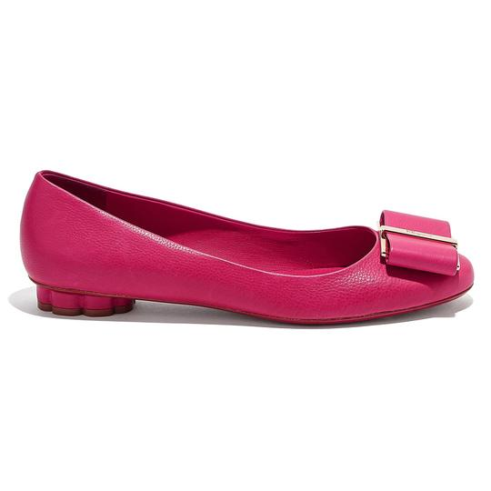 Preload https://img-static.tradesy.com/item/26300080/salvatore-ferragamo-pink-leather-vara-bow-ballerina-flats-size-us-7-regular-m-b-0-0-540-540.jpg