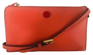 Tory Burch Wristlet in Peach