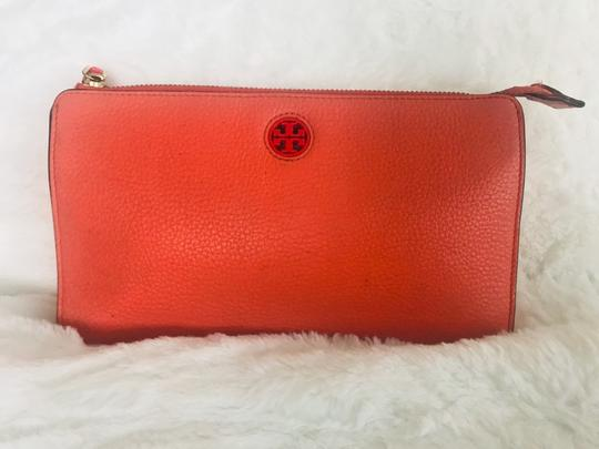 Tory Burch Wristlet in Peach Image 1