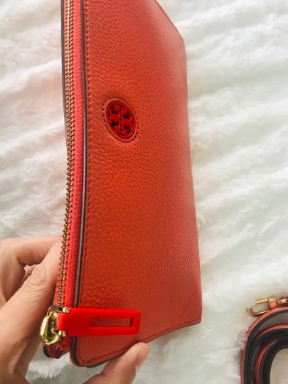 Tory Burch Wristlet in Peach Image 2