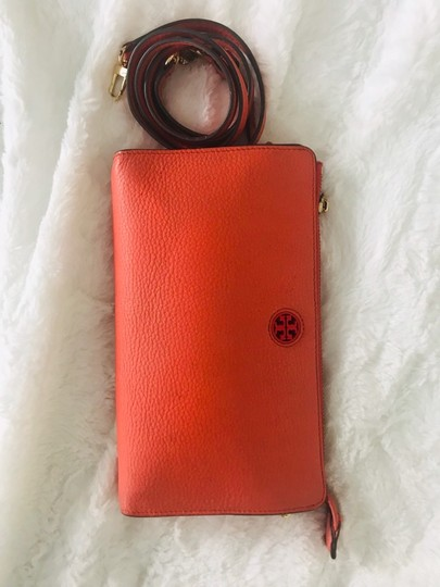Tory Burch Wristlet in Peach Image 3