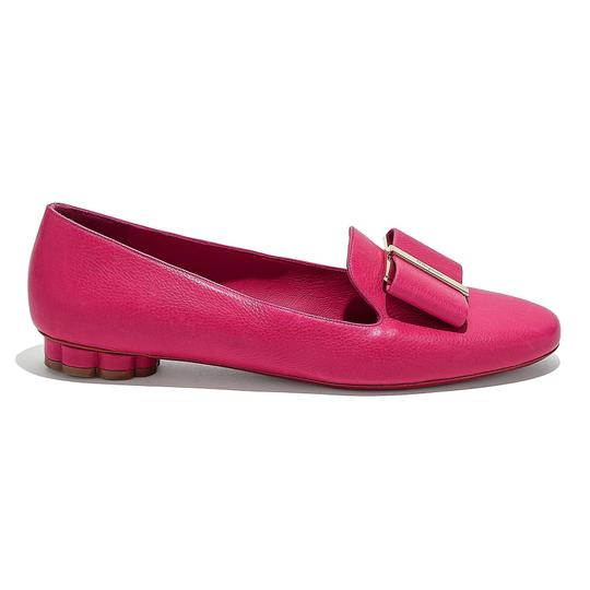Preload https://img-static.tradesy.com/item/26300142/salvatore-ferragamo-pink-leather-vara-ballerina-flats-size-us-75-regular-m-b-0-0-540-540.jpg