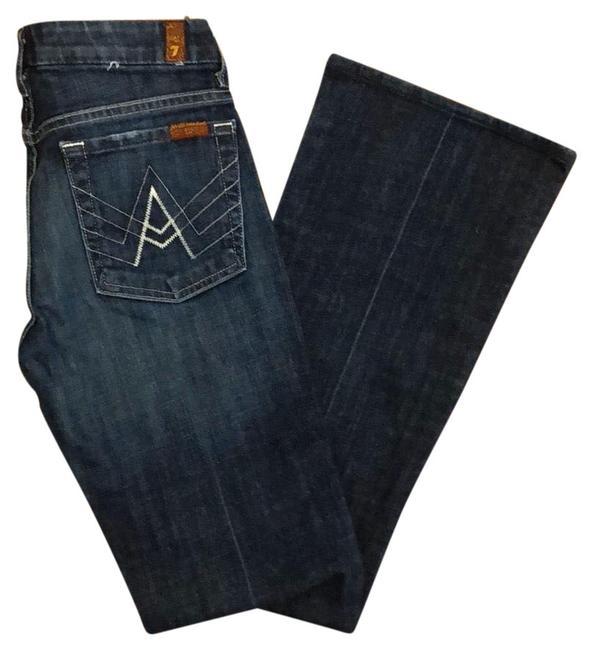 "Item - Blue ""a"" Pocket Flare Leg Jeans Size 4 (S, 27)"