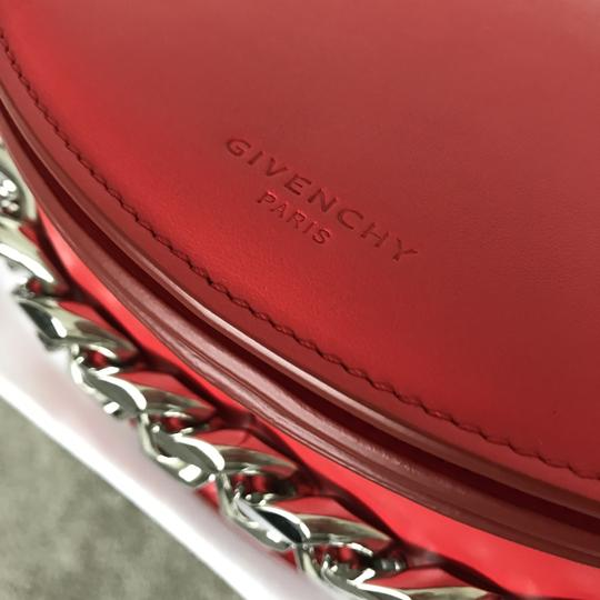 Givenchy Leather Chain Silver Hardware Cross Body Bag Image 2