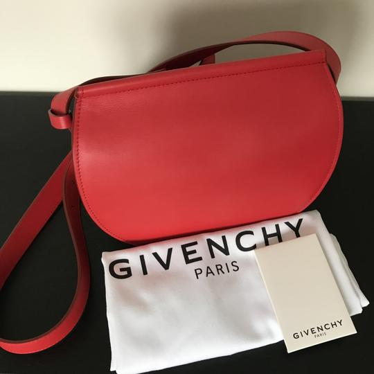 Givenchy Leather Chain Silver Hardware Cross Body Bag Image 4