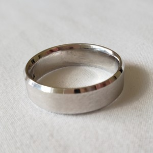Jared Men's White Gold Wedding Band