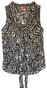 Kirna Zabete for Target Top Black, white with a hit on shimmer