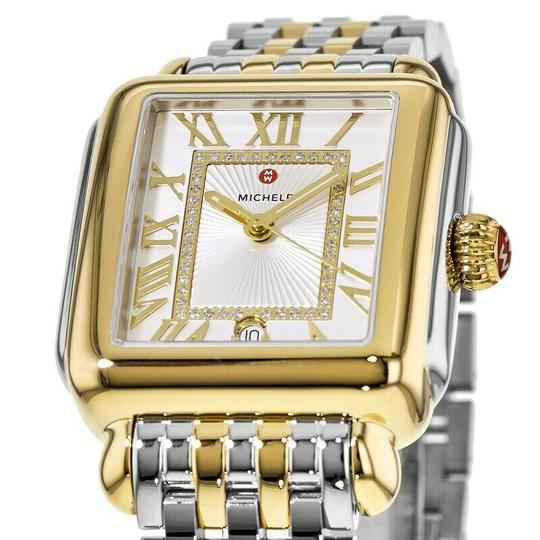 Michele Deco Madison Two Tone Stainless Steel Diamond MWW06T000147 Image 9