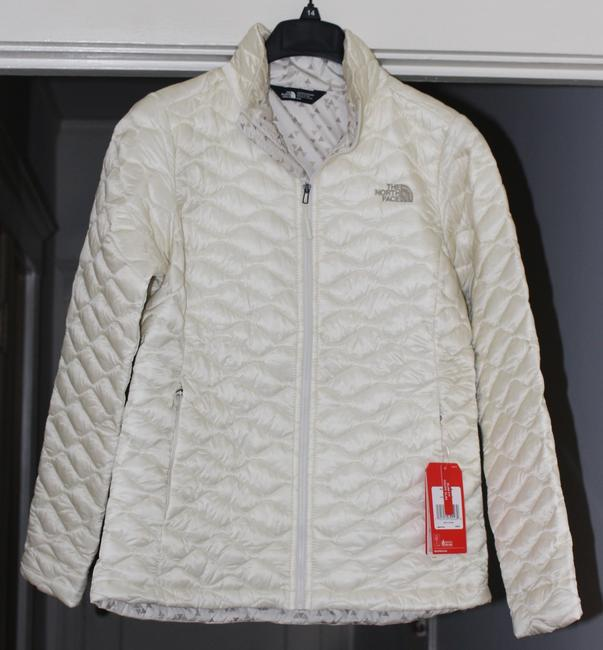 The North Face Thermoball Nuptse Down Moncler Canada Goose Vintage White Jacket Image 1