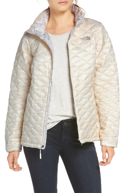 The North Face Thermoball Nuptse Down Moncler Canada Goose Vintage White Jacket Image 2