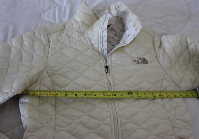 The North Face Thermoball Nuptse Down Moncler Canada Goose Vintage White Jacket Image 4