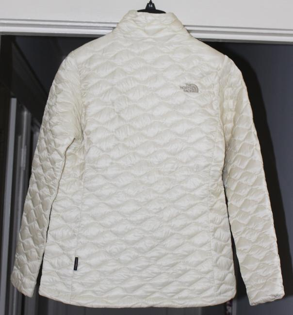 The North Face Thermoball Nuptse Down Moncler Canada Goose Vintage White Jacket Image 7