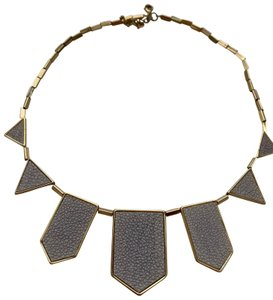 House of Harlow 1960 House of Harlow 1960 Station Leather Necklace