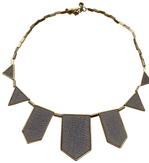 House of Harlow 1960 House of Harlow 1960 Station Leather Necklace Image 0