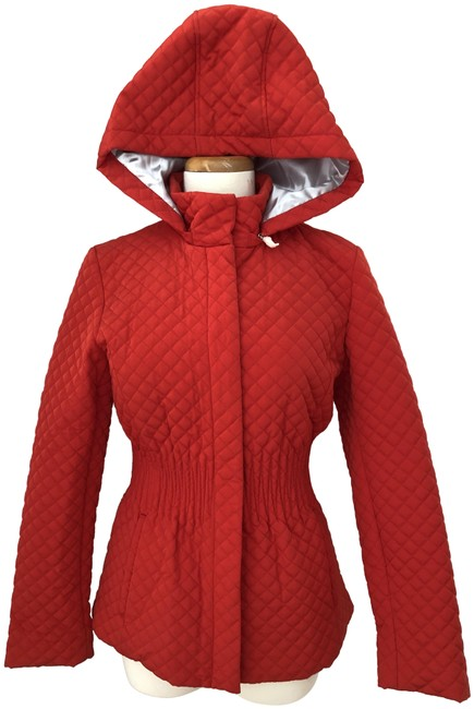 Preload https://img-static.tradesy.com/item/26300406/calvin-klein-red-quilted-jacket-hood-coat-size-2-xs-0-1-650-650.jpg