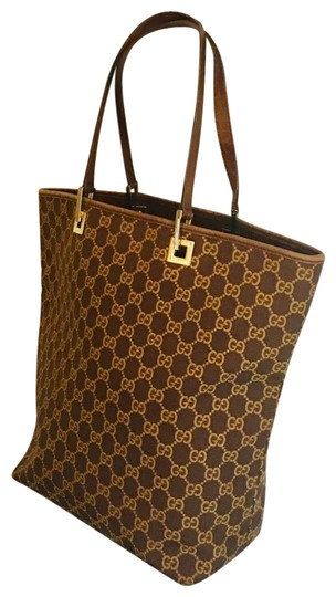 Preload https://img-static.tradesy.com/item/26300426/gucci-monogram-with-gold-hardware-brown-canvas-tote-0-2-540-540.jpg