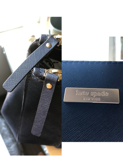 Kate Spade New Satchel in Navy Blue Image 10