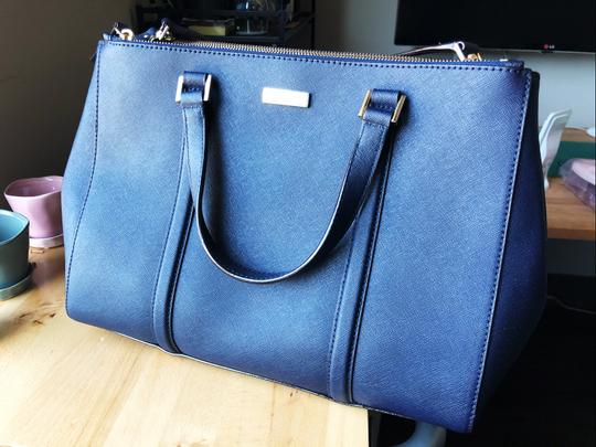Kate Spade New Satchel in Navy Blue Image 2