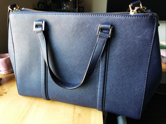 Kate Spade New Satchel in Navy Blue Image 3