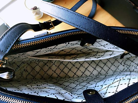 Kate Spade New Satchel in Navy Blue Image 4