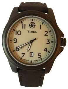 Timex Timex Expedition Indigo & Leather Strap
