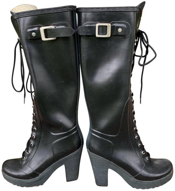 Item - Black Platform Boots/Booties Size EU 39 (Approx. US 9) Regular (M, B)