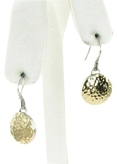 Preload https://img-static.tradesy.com/item/26300534/john-hardy-18k-gold-sterling-silver-palu-round-disc-drop-earrings-0-1-540-540.jpg