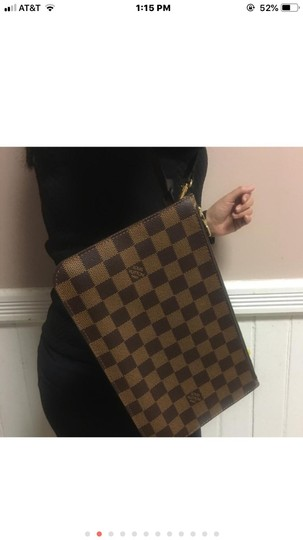 Louis Vuitton Wristlet in Red Image 10