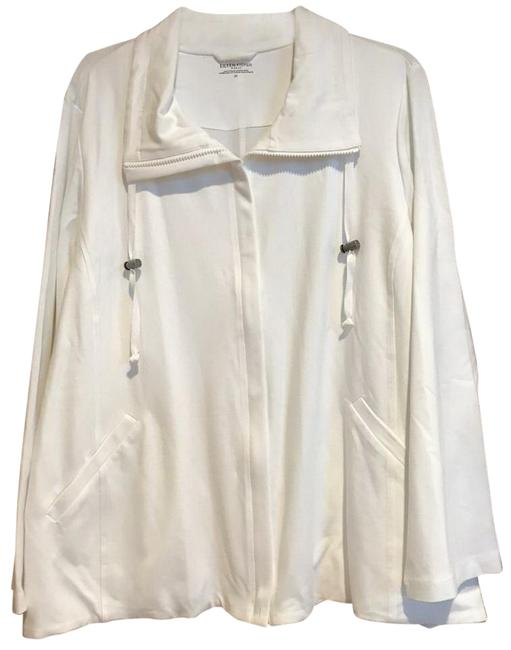 Preload https://img-static.tradesy.com/item/26300582/eileen-fisher-white-jersey-cotton-stretch-hi-collar-jacket-size-26-plus-3x-0-1-650-650.jpg