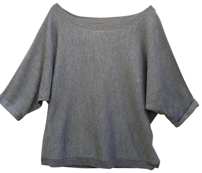 Preload https://img-static.tradesy.com/item/26300586/new-york-and-company-silver-soho-glitter-jeans-tunic-size-12-l-0-2-650-650.jpg