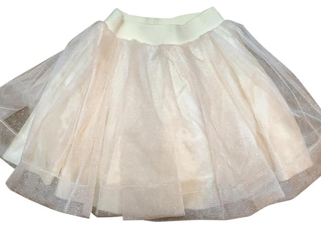 Preload https://img-static.tradesy.com/item/26300590/cream-with-light-gold-sparkle-skirt-size-00-xxs-24-0-1-650-650.jpg