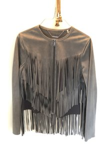 Elie Tahari Nutmeg Leather Jacket
