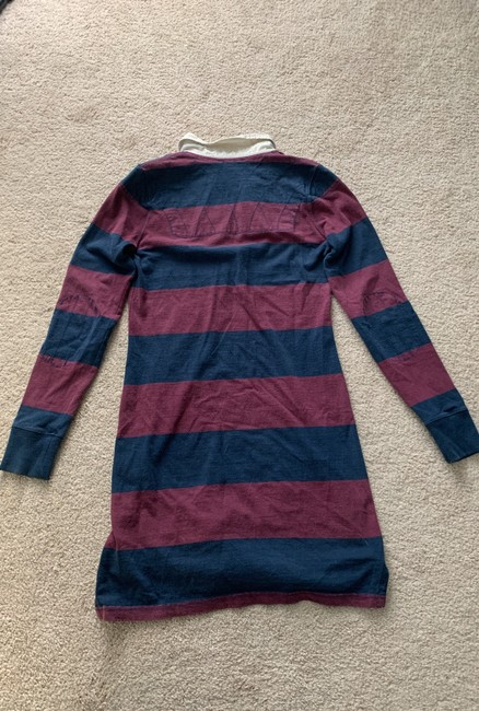 Rugby Ralph Lauren short dress Maroon and Blue on Tradesy Image 1