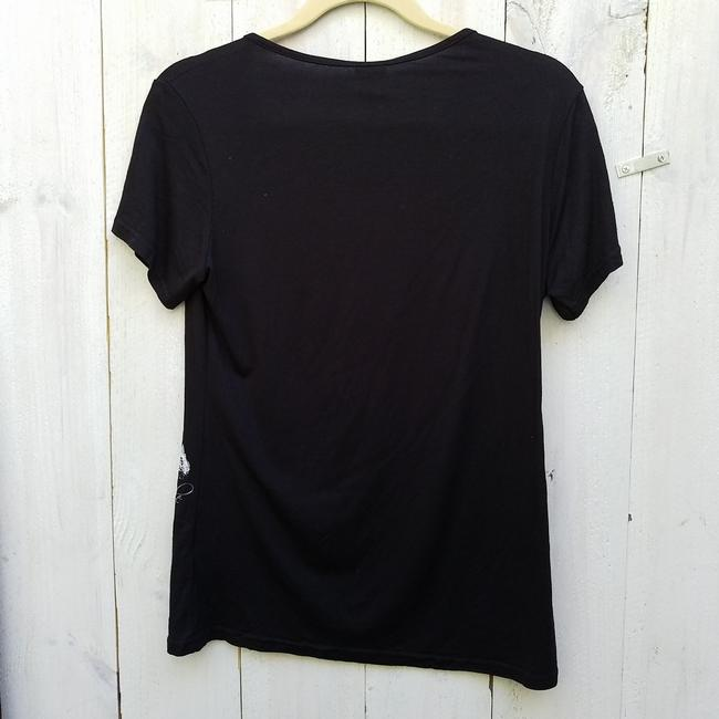 Other France Eifel T Shirt Black and white Image 2