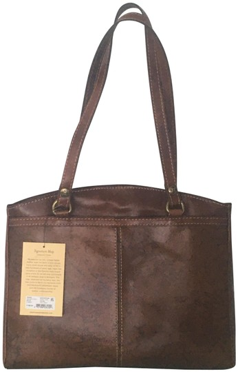 Preload https://img-static.tradesy.com/item/26300683/poppy-signature-map-brown-leather-tote-0-1-540-540.jpg