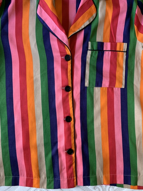 Reformation Button Down Shirt Multicolor Image 4
