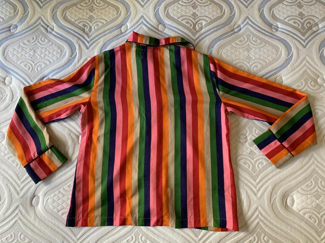 Reformation Button Down Shirt Multicolor Image 8
