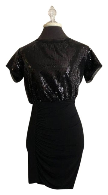 Preload https://img-static.tradesy.com/item/26300712/bcbgeneration-black-new-sequin-small-new-with-tags-mid-length-cocktail-dress-size-4-s-0-1-650-650.jpg