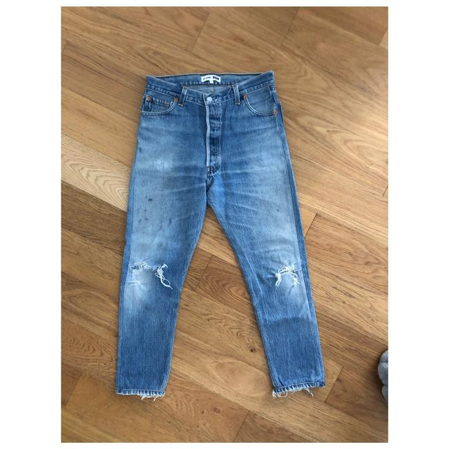 RE/DONE Skinny Jeans-Distressed Image 0