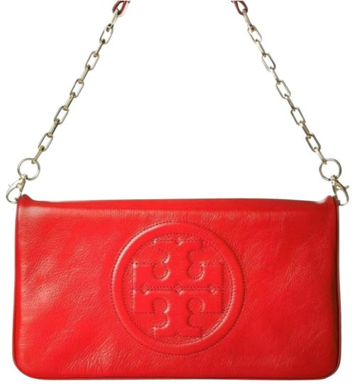 Preload https://img-static.tradesy.com/item/26300759/tory-burch-bombe-red-leather-clutch-0-7-540-540.jpg