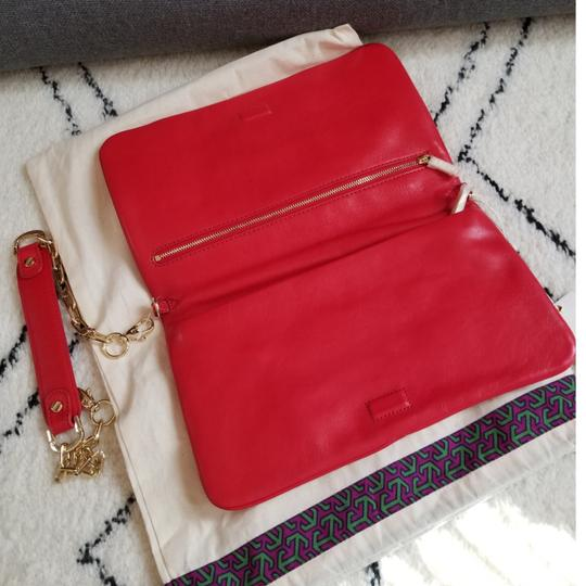 Tory Burch Red Clutch Image 2